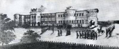 Княжеският дворец в Яш, където Индже в продължение на 15 години е гвардейски командир