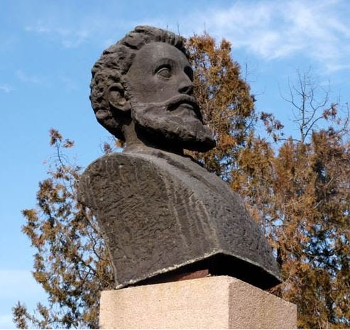 паметник на Ангел Кънчев в Разград