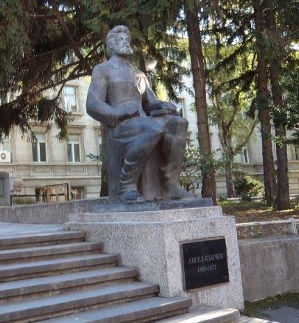 паметник на Ангел Кънчев в Русе